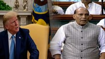 No question of accepting mediation on Kashmir says Rajnath Singh in Parliament | Oneindia News