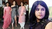 Kangana Ranaut's Judgementall Hai Kya screening not attended by Ekta Kapoor & Rajkummar | FilmiBeat