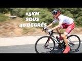 Sur le Tour de France, Sylvie Tellier a réalisé une étape pour la bonne cause