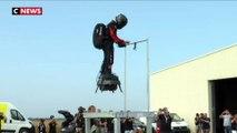 Franky Zapata va traverser la Manche sur son Flyboard