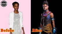 Letitia Wright Before And After ★ Black Panther 2018