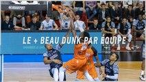 Top dunk par équipe