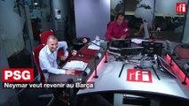 PSG : Neymar veut revenir au Barça