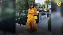 Priyanka Chopra Jonas rings her 37th birthday in a scintillating red dress, watch video
