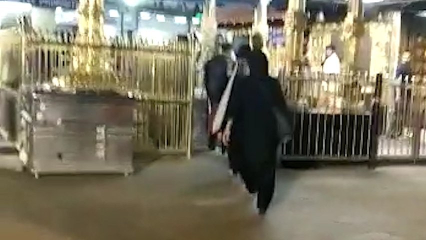 Two women enter Sabarimala temple