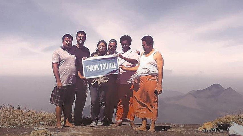 First woman climbs Kerala peak that women were banned from