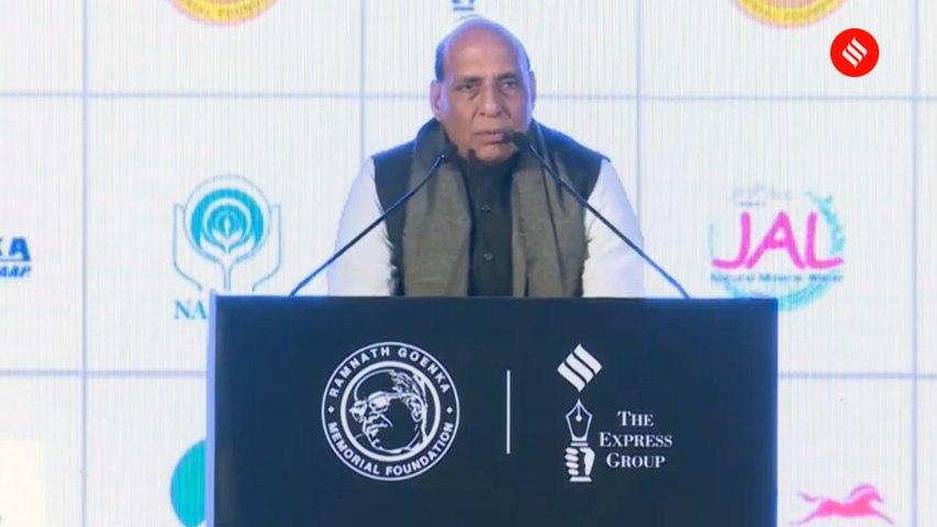 Rajnath Singh: How can Naxals be called Gandhians with Guns?