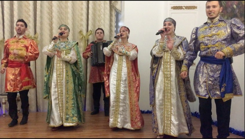 A night of Russian Christmas in Delhi