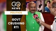 'RTI Amendment Aimed At Covering Corruption'