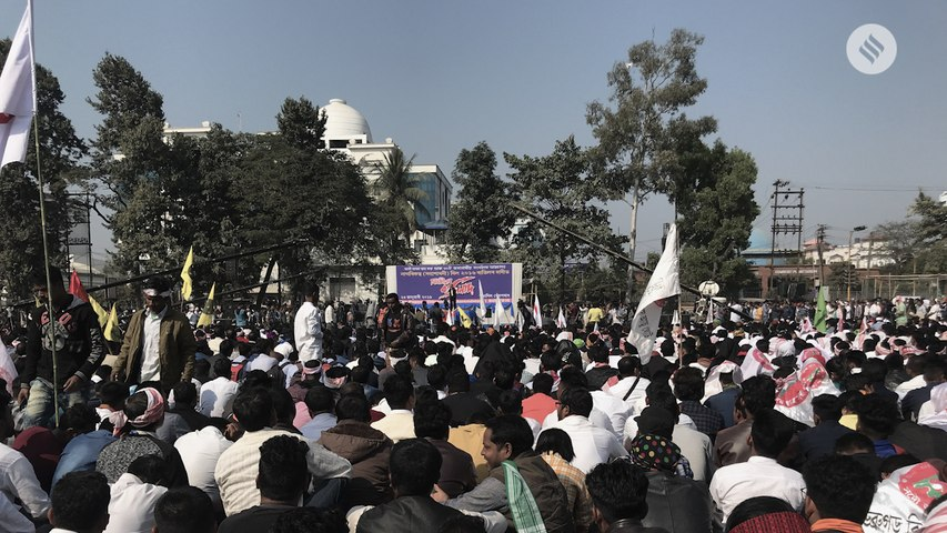Thousands gathers in Assam to protest against the Citizenship (Amendment) Bill