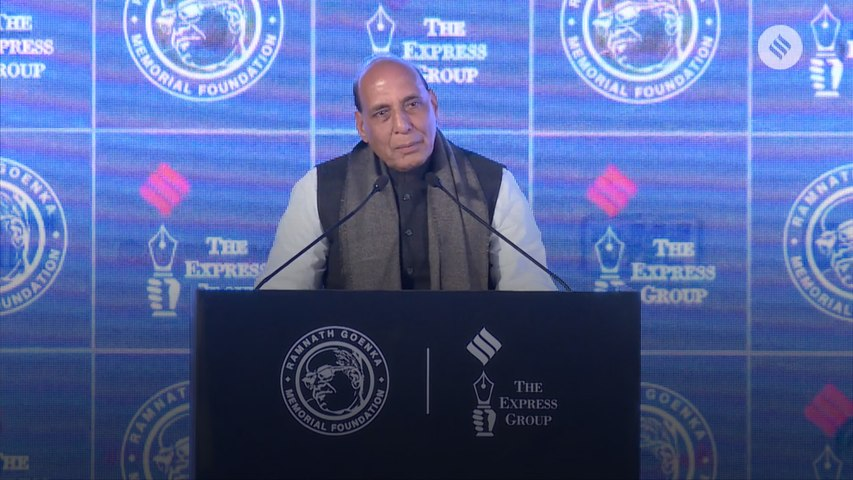 RNG Awards 2019: Union Home Minister Rajnath Singh Delivering The Keynote Address