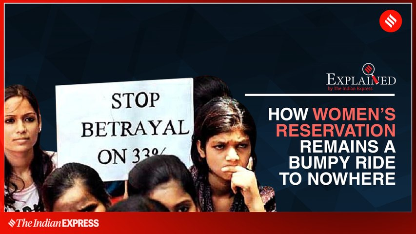 How Women's Reservation Remains A Bumpy Ride To Nowhere