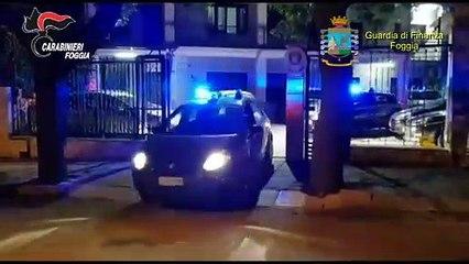 Blitz dei Carabinieri nell'ambito dell'inchiesta Drug Wash tra Foggia e  Lucera