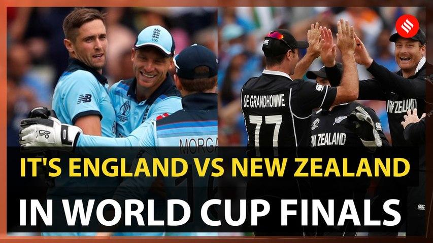 England thrash Australia to reach World Cup finals
