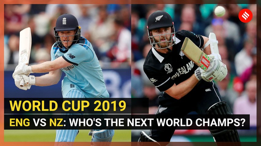 Cricket World Cup 2019   England and New Zealand are facing each other in the final for lifting their maiden trophy