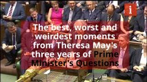 Theresa May PMQs best bits