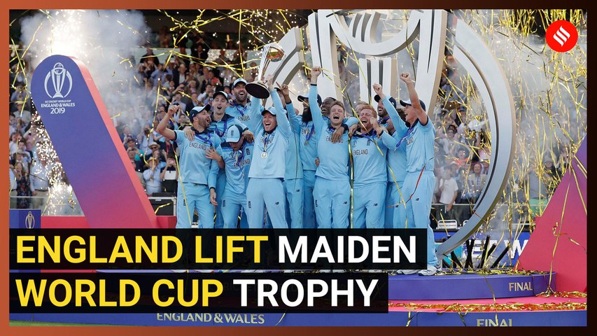 England Win Maiden ICC World Cup Via Dramatic Super Over