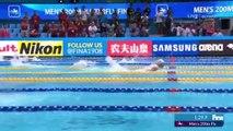 Kristof Milak, 1:50.73'lük derecesiyle dünya rekoru kırdı ve altın madalyanın sahibi oldu!