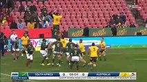 Rory Arnold face au Springboks
