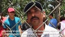 Les migrants rejetés par les USA attendent au Mexique de rentrer chez eux