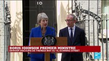 REPLAY - Dernier discours de Theresa May au 10, Downing Street