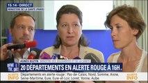 """Cette canicule """"atteint des niveaux supérieurs à la canicule de 2003"""" annonce Agnès Buzyn"""
