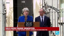 """Theresa May: """"I hope that every girl now knows there're no limits to what they can achieve"""""""