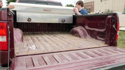 How to Install a Lighted Truck Box
