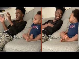 Diese Unterhaltung zwischen einem Vater und seinem Baby ist einfach nur bezaubernd!