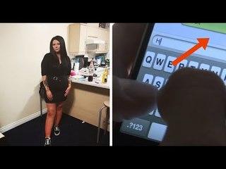 Nach dem Date sieht sie DAS auf ihrem Handy. Dann explodiert sie.
