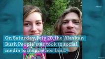 'Alaskan Bush People' Star Rain Brown Encourages Her Followers to 'Give Life a Little Sparkle'