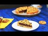 Groß, größer, Riesen-Schoko-Cookie mit Nutella-Füllung.