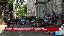 REPLAY - Discours de Boris Johnson au 10, Downing Street