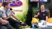 SAM FELDT en interview sur Fun Radio à Tomorrowland 2019