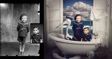 Cette photographe transforme des photos vintage en véritables œuvres d'art !