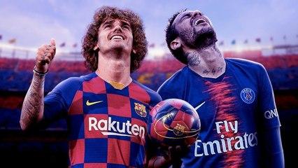 Does Antoine Griezmann's Transfer To Barcelona End Neymar's Dream Return-! - W&L