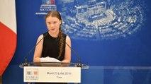 Greta Thunberg, la jeune écolo qui a pris la parole à l'Assemblée nationale
