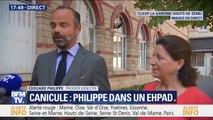 """Édouard Philippe: """"Il faut que l'ensemble de nos concitoyens soient conscients des risques associés à cette chaleur"""""""