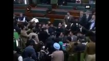 J&K -  NC MLAs create Ruckus In Assembly Over Article 370