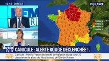 Canicule: Alerte rouge déclenchée !