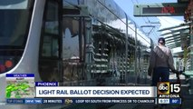 Court to decide on light rail initiative
