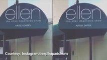 Deepika Padukone Debuts On The Ellen DeGeneres Show