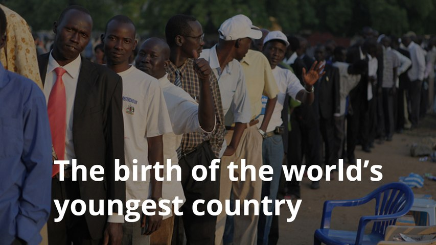 South Sudan becomes the youngest country