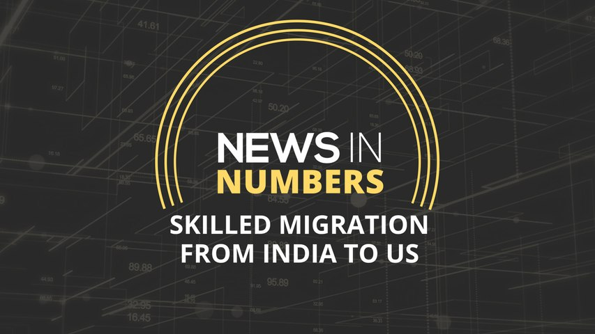 News in Numbers: Skilled migration from India to US