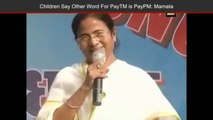 West Bengal CM Mamata Banerjee Takes A Jibe At PM Modi Over Cash Crunch