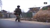 J&K -  Encounter Between Terrorists, Security Forces Underway