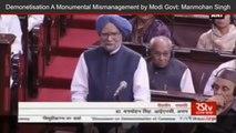 Former PM Dr Manmohan Singh Says Demonetisation Will Hit Growth