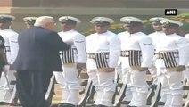 Israel President Receives Ceremonial Reception At Rashtrapati Bhawan