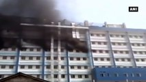 West Bengal -  Short Circuit Leads To Massive Inferno At Hospital In East Midnapore