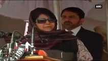 Mehbooba Mufti -  'We Discuss About Films, But Wagah Border is Still Moving'